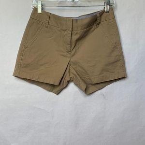 J. Crew Womens Chino Khaki Shorts